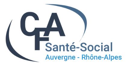 CFA des Métiers de la Santé et du Social Auvergne – Rhône – Alpes
